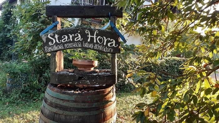 Die historischen Weinkeller von Stará Hora bei Sebechleby