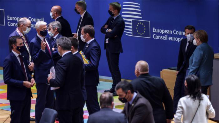 Continúa el encuentro de líderes de la Unión Europea en Bruselas