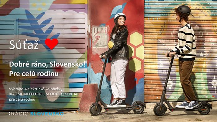 Súťaž! Dobré ráno, Slovensko! - Pre celú rodinu