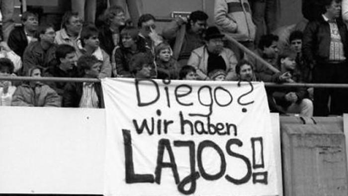 Amikor Maradona megölelgette Dömét