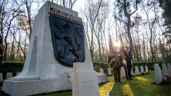102e anniversaire de l'instauration de la République tchécoslovaque