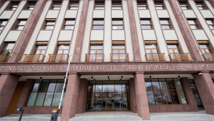 При министерстве юстиции СР создается новая антикоррупционная структура