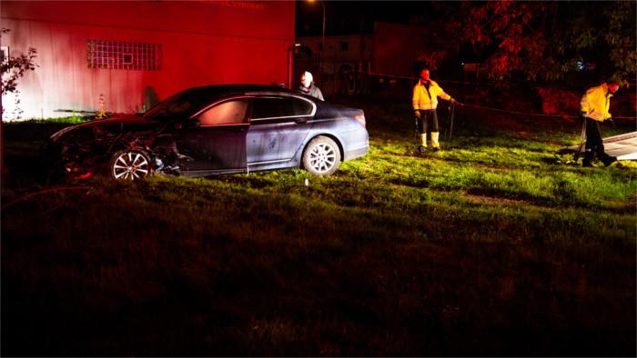 Accident de voiture du chef du Parlement slovaque