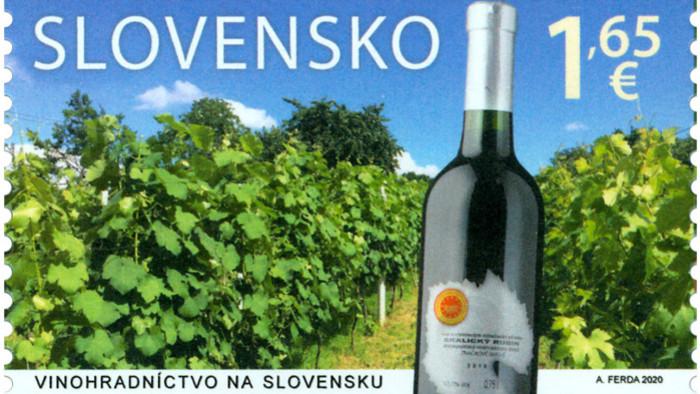 Nouveaux timbres illustrant la vigne en Slovaquie et à Malte