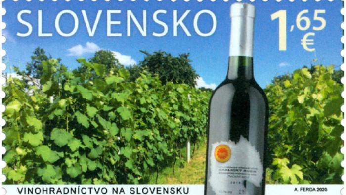 Словацкая почта выпустила марки с виноградарским мотивом