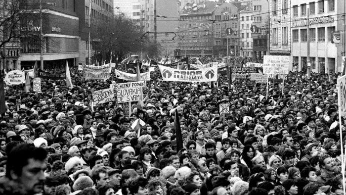 31. výročie Nežnej revolúcie