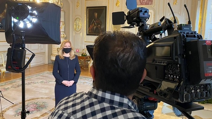 Prezidentka Zuzana Čaputová sa prihovorí občanom Slovenska