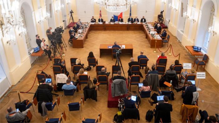 Diputados evalúan a los candidatos para el cargo de fiscal general