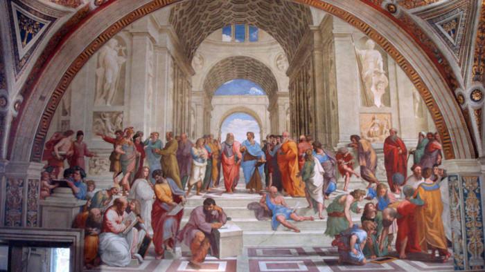 Rafaelo Santi: Aténska škola