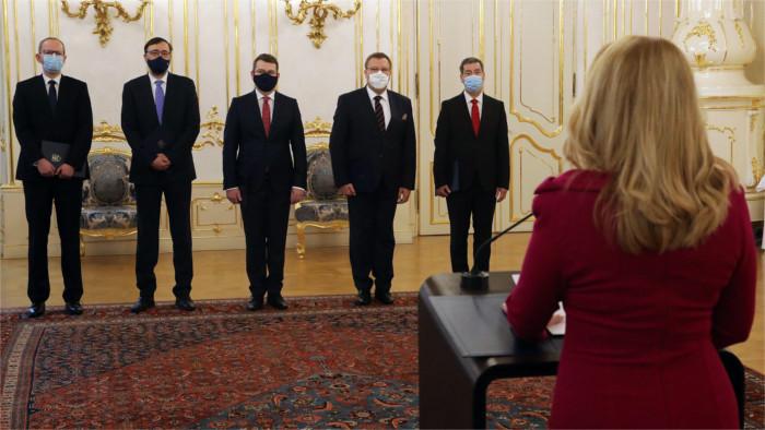 Präsidentin Čaputová ernennt neue Botschafter
