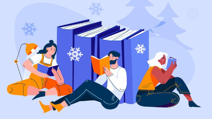 Kniha pod stromček