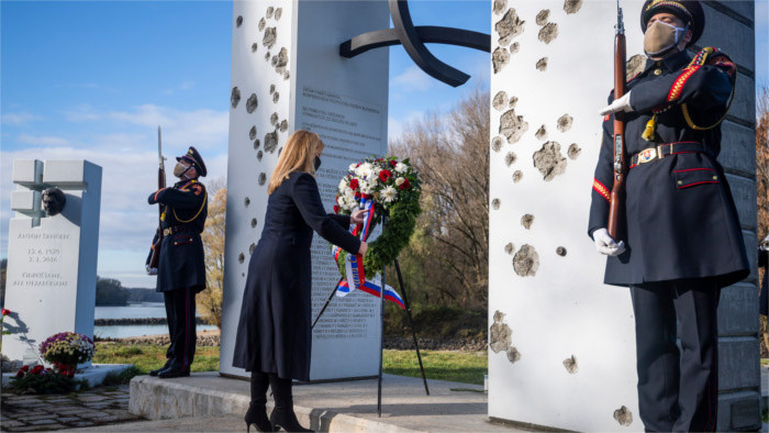 Čaputová pays tribute to victims of communist regime