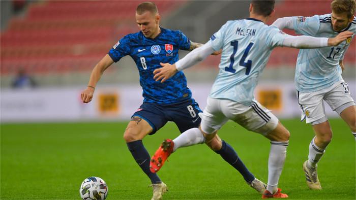Словацкая футбольная сборная скатилась в Лиге Наций в «С» Дивизион