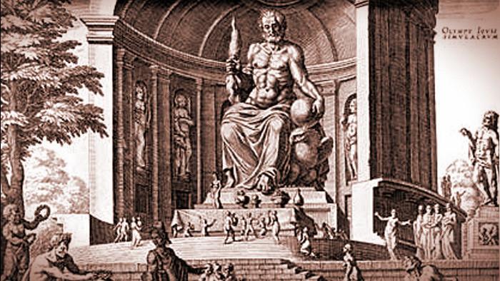 Za siedmimi divmi sveta: Feidiov Zeus v Olympii