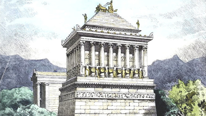 Parnas: Div piaty – Mauzóleum v Halikarnase