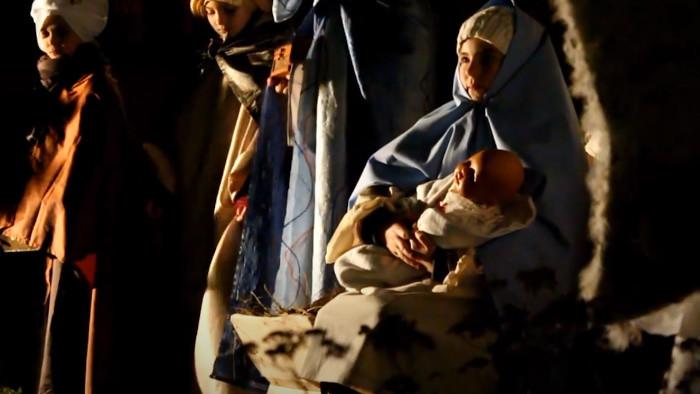 Betlehemci v skanzene