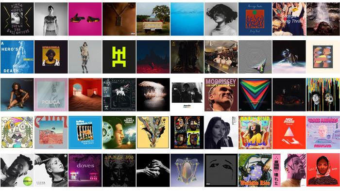 Najlepšie zahraničné albumy v roku 2020