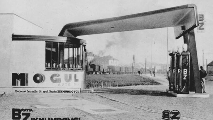 Fenomény: Najstaršia čerpacia stanica v Bratislave