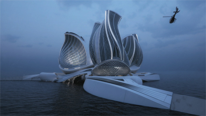 The 8th Continent: Ocean cleaning station designed by Slovak architect