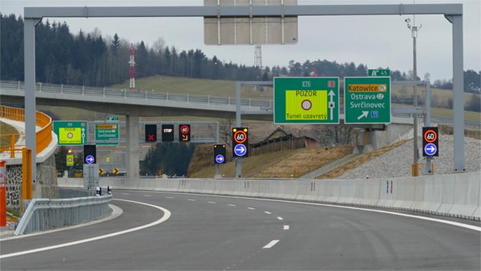 Nové úseky diaľnic a rýchlostných ciest