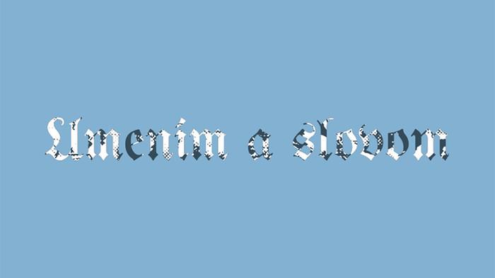 Výstava Umením a slovom vo Východoslovenskej galérii v Košiciach