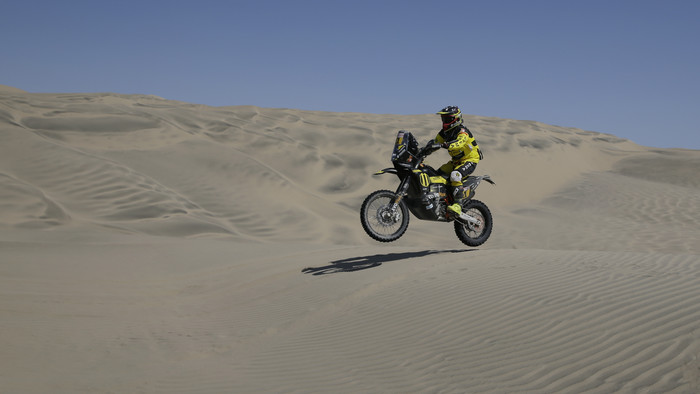Štefan Svitko po 11. etape na Rely Dakar