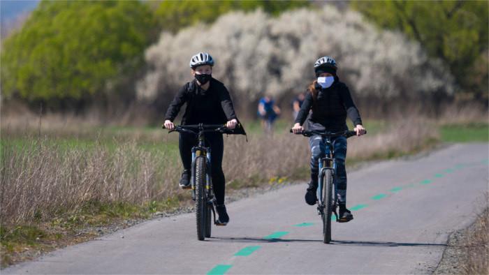 Die Radstrecke entlang des Flusses Váh wird erweitert