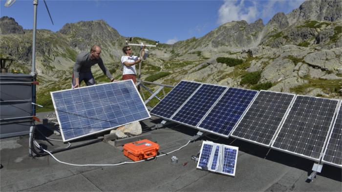 Eslovaquia cumple sus objetivos aprovechando siempre más los recursos de energía renovable