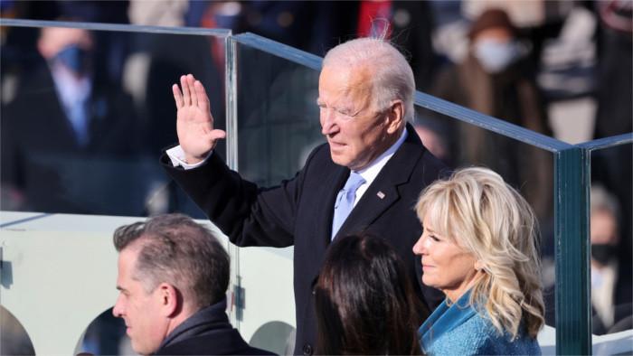 Los más altos representantes del Estado congratulan a Biden