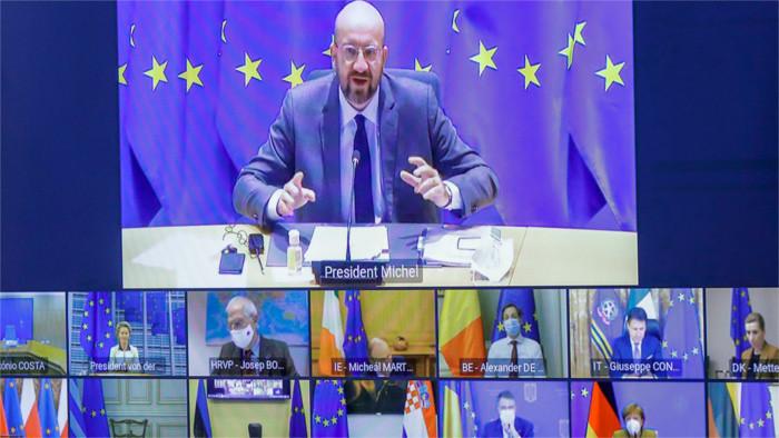 Matovič participa en una videoconferencia con los líderes de la UE