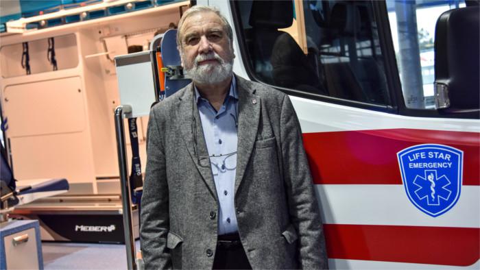 Die Legende des Rettungsdienstes Viliam Dobiáš über die weltweite Plage Covid-19