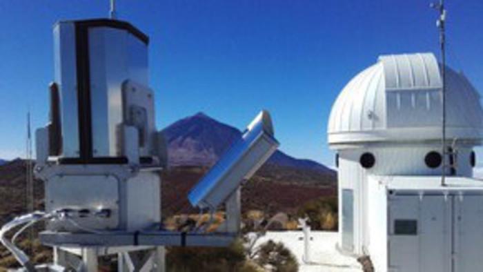 Spezielle Kamera für Meteorbeobachtung