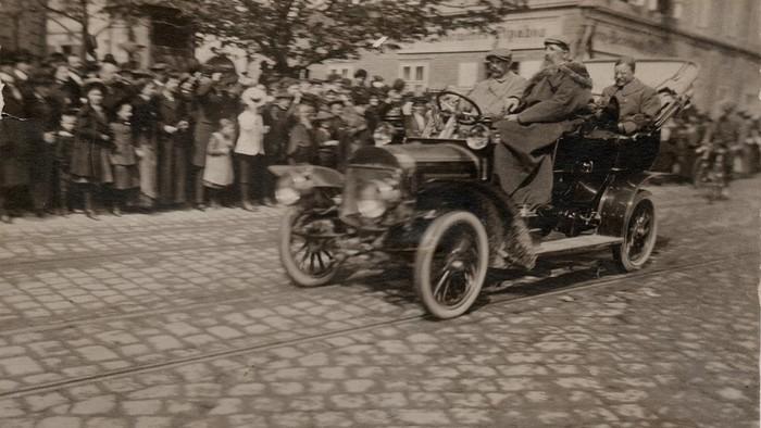 Popoludnie Theodora Roosevelta v Prešporku a okolí
