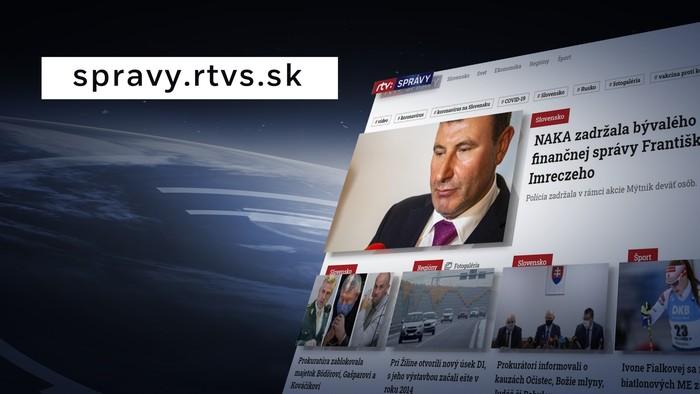 RTVS spúšťa spravodajský web. Klikajte na spravy.rtvs.sk