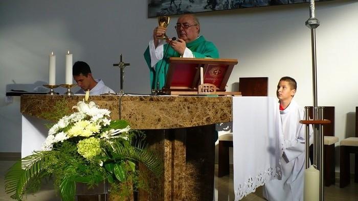 Zsidó János plébános az oltásról