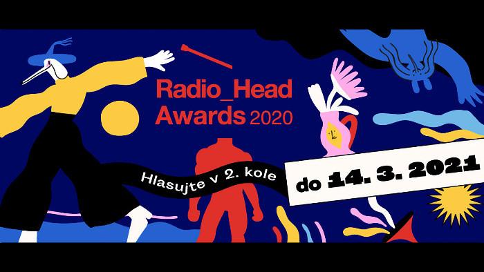Hlasujte v 2. kole Radio_Head Awards 2020