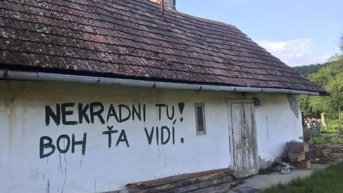 Rozprávanie oodvrátenej strane Slovenska