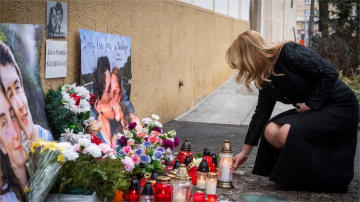 Slovaks remember murdered journalist Ján Kuciak