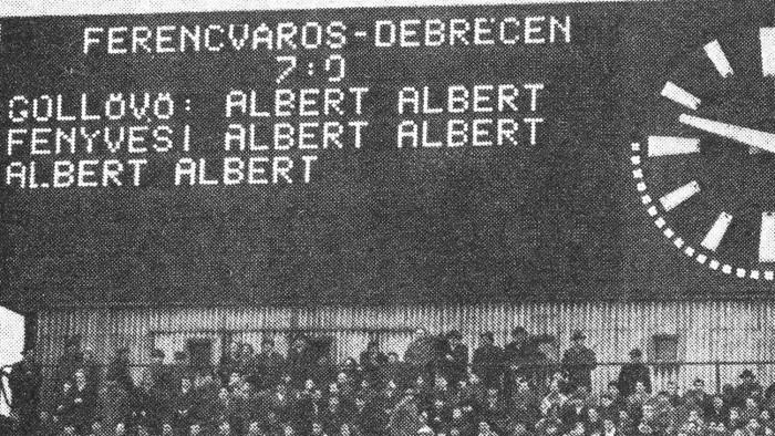 Jöjj vissza, Albert Flórián!