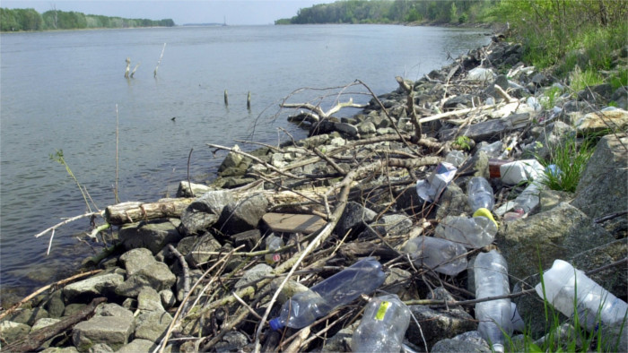 Plastic waste in the Danube and the effort to clean it up