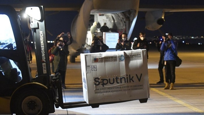 1 марта Sputnik V прилетел в Словакию