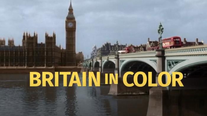 Británia vo farbe