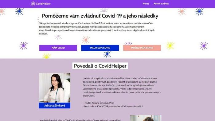 Voluntarios eslovacos inventan una herramienta de consulta sobre Covid19