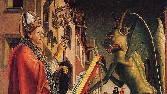 Juraj Fándly: Rozhovor mnícha s diablom