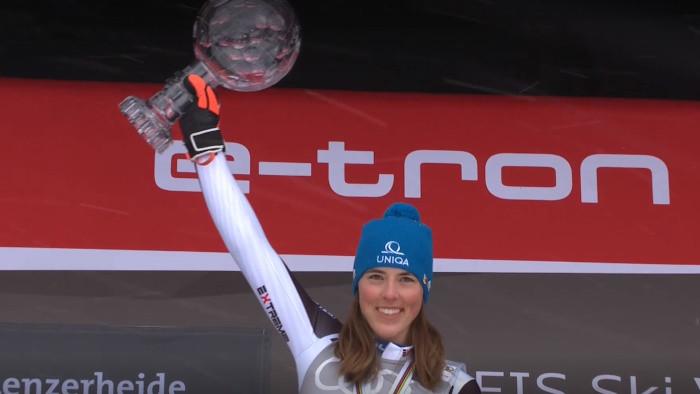 Zjazdové lyžovanie - Medailový ceremoniál