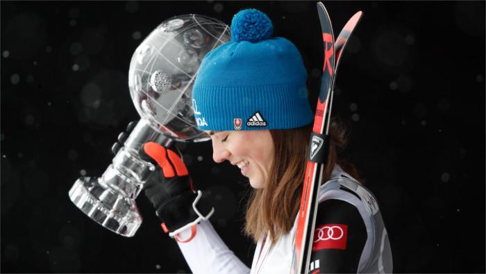 Gran éxito de Vlhová en la Copa del Mundo de esquí alpino