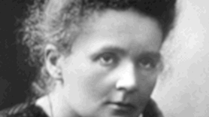Marie Curie Sklodowska