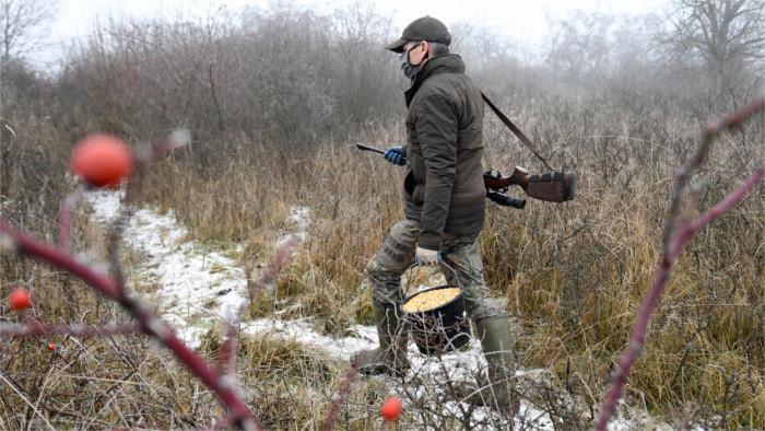 Jäger erhalten Ausnahme von Ausgangssperre