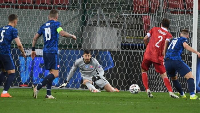 Успех словацкого футбола