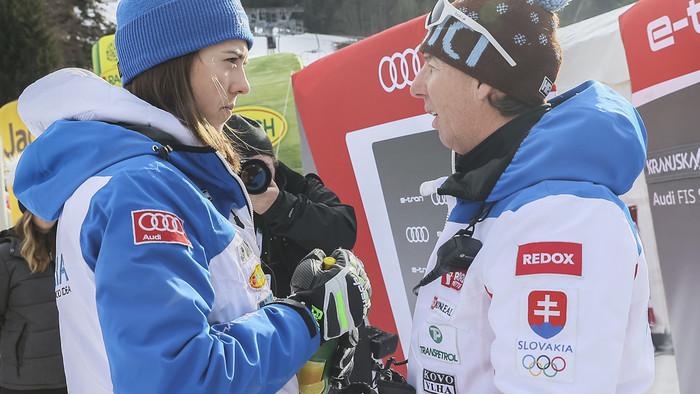 Petra Vlhová končí spoluprácu s trénerom Liviom Magonim